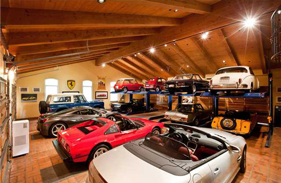 12 Car Garage : Ty pennington