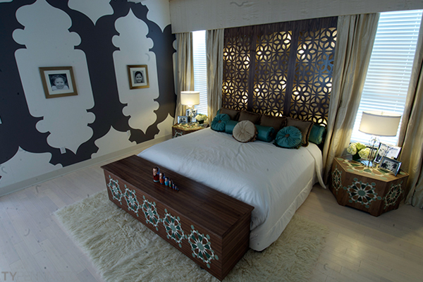 Extreme makeover design ty pennington for Extreme makeover bedroom ideas