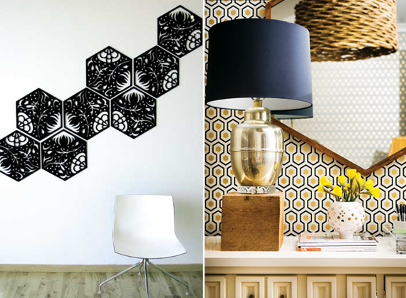 Inspired By: Honeycomb Hexagons