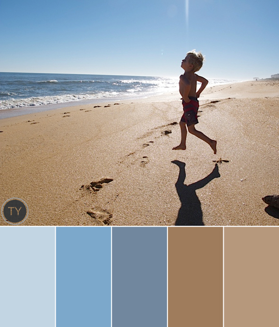 Inspired By: Cool Summer Color Palettes   Ty Pennington