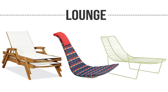 Outdoor Living Summer Seating Lounge