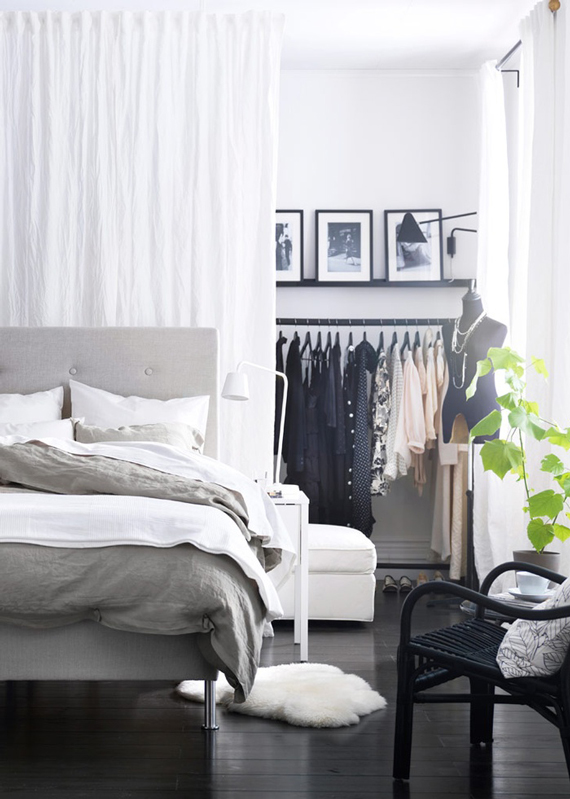 Design Dilemma: No Closet, No Problem | TyPennington.com