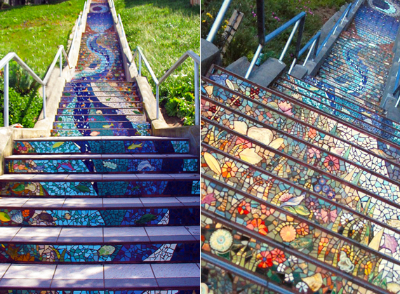 Street Art: Stairs with Flair | TyPennington.com