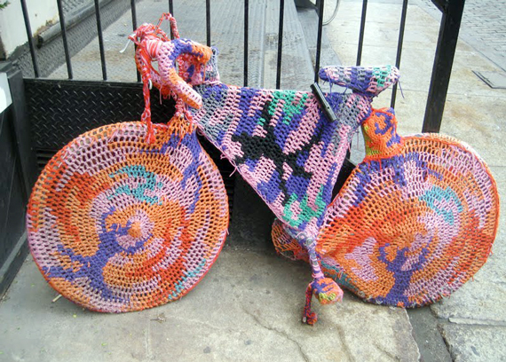 Yarn Bombing | Ty Pennington