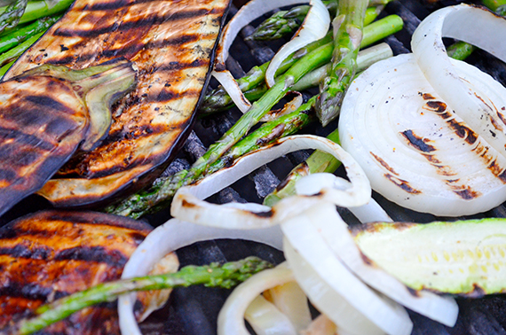 Herb Marinated Grilled Vegetables | Chef Virginia Willis