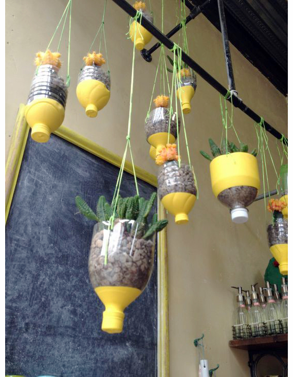 Recycled Planters | Ty Pennington