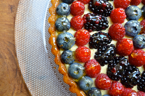Fresh Fruit Summer Tart by Virginia Willis