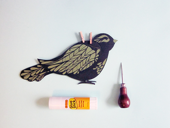 DIY Cute Mechanical Bird Project | Morgan Levine