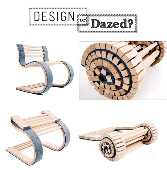 Design or Dazed: Roll-Up Wood | Ty Pennington