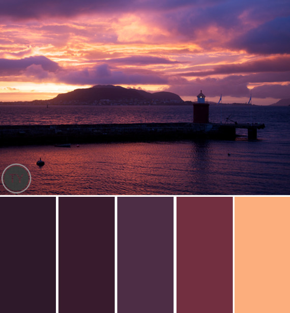 Plum Paint Color Schemes