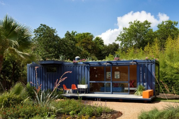 Shipping container guest house | Ty Pennington