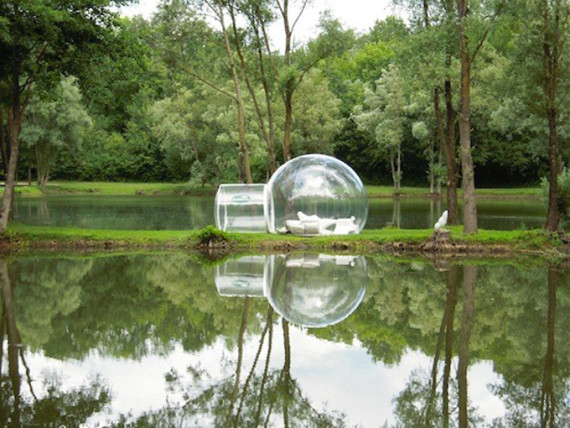 Bubble tent, transportable prefab | Ty Pennington