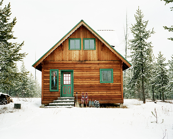 Classic cabin | Ty Pennington's Favorite Winter Pins