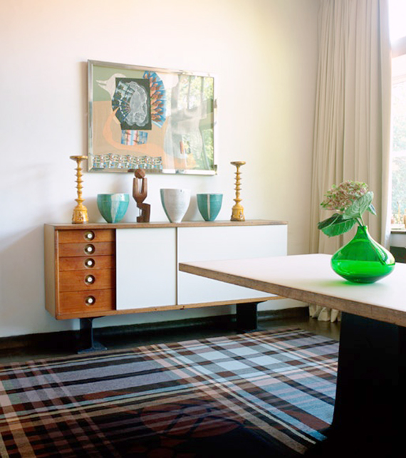 Modern plaid run with vintage accents | Ty Pennington