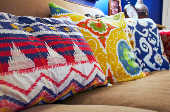 Tribal prints and Suzani textiles | Ty Pennington's Predicitions: 2014 Interior Design and Home Trends