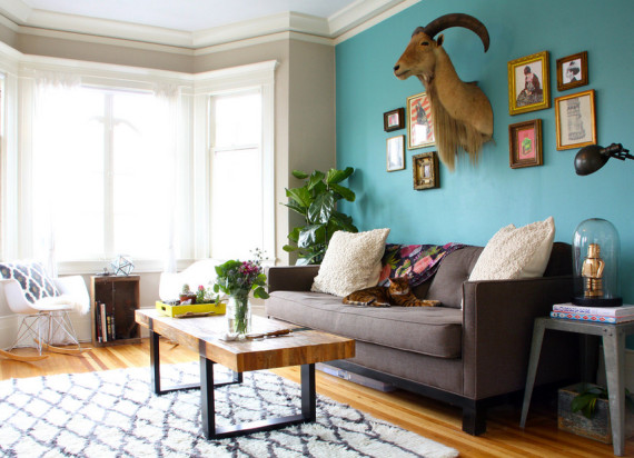 Turquoise and bold colors | Ty Pennington's Predicitions: 2014 Interior Design and Home Trends