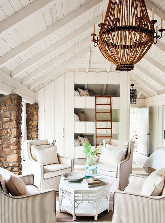 How to make cathedral ceilings more cozy | Ty Pennington