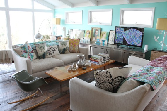 Before & After: Amy Butler's Family Room Transformation