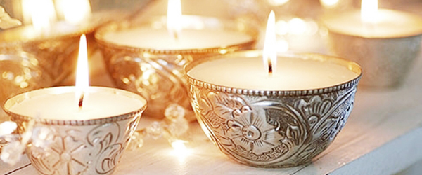 Using candles to set the mood | Ty Pennington
