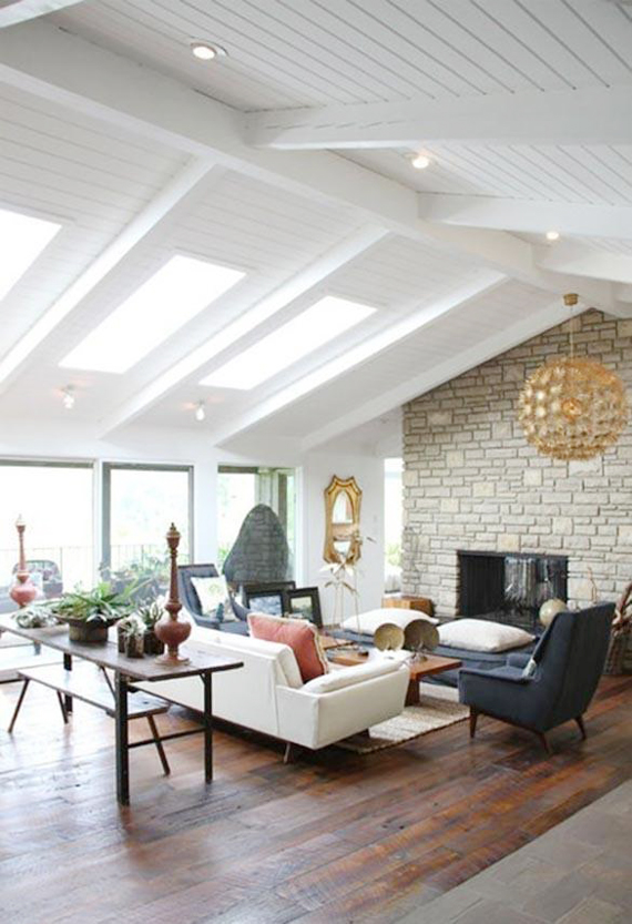 Lighting tips for vaulted ceilings | Ty Pennington