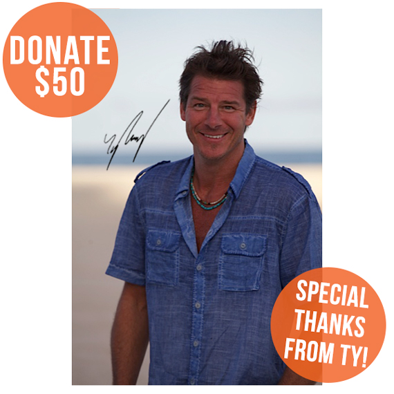 Win An Autographed Photo Of Ty Pennington | Pencils of Promise