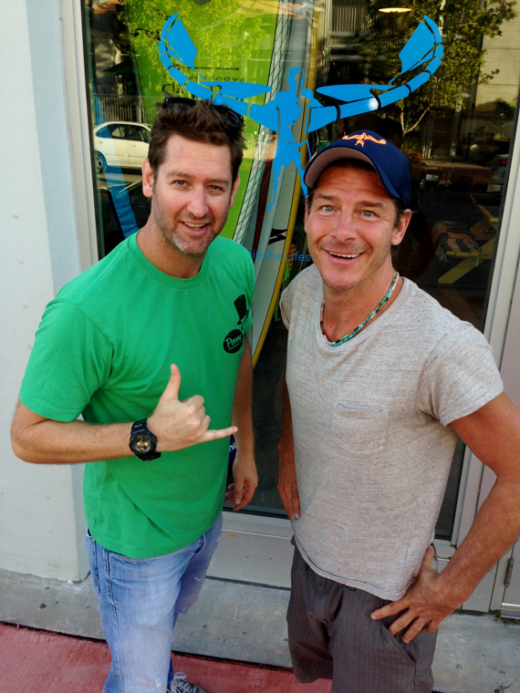 Stand Up Paddling (SUP) with Ty Pennington