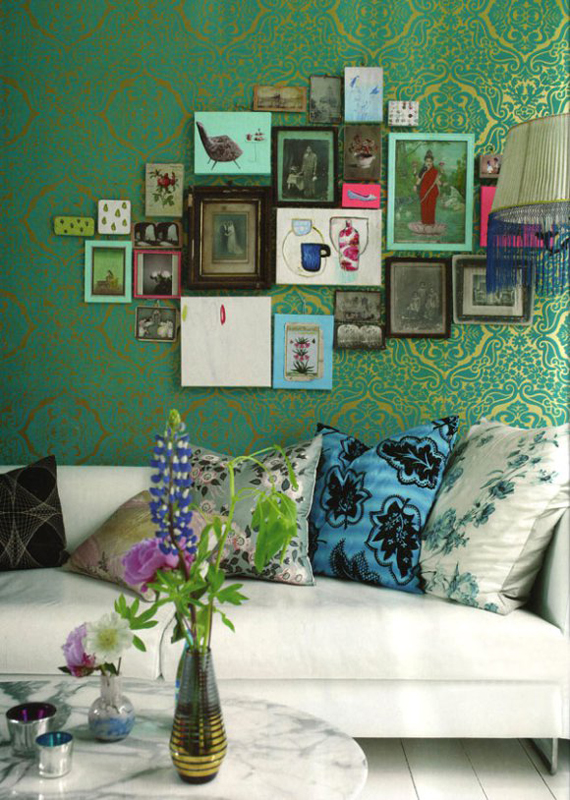 Vintage wallpaper | Go Green: St. Patty's Day Design
