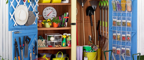 Delightful How To Organize Your Garden Shed