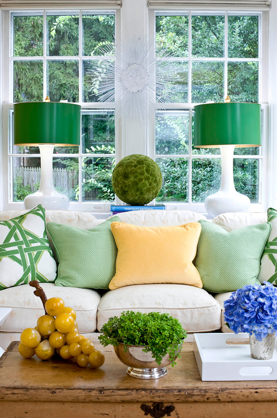 Accent Lamps | Go Green: St. Patty's Day Design