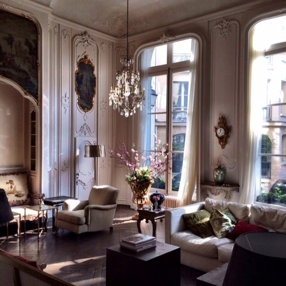 Grand Salon | Worldly Design: Adventures in Paris by Patrick Delanty