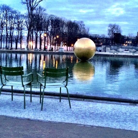 Jardin Tuileries | Worldly Design: Adventures in Paris by Patrick Delanty