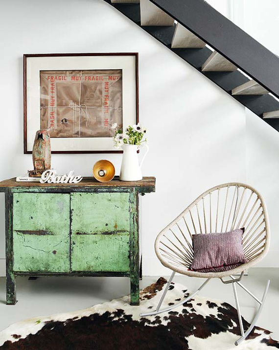 Vintage storage | Go Green: St. Patty's Day Design