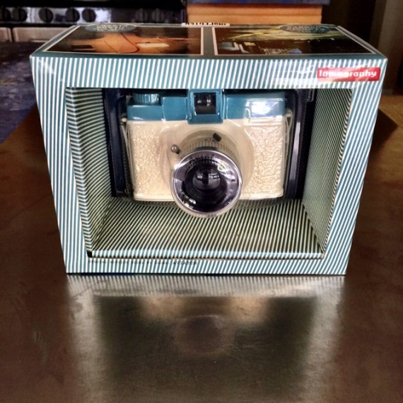 Vintage camera in original packaging | Spring Cleaning: How To Host a Raffle Party