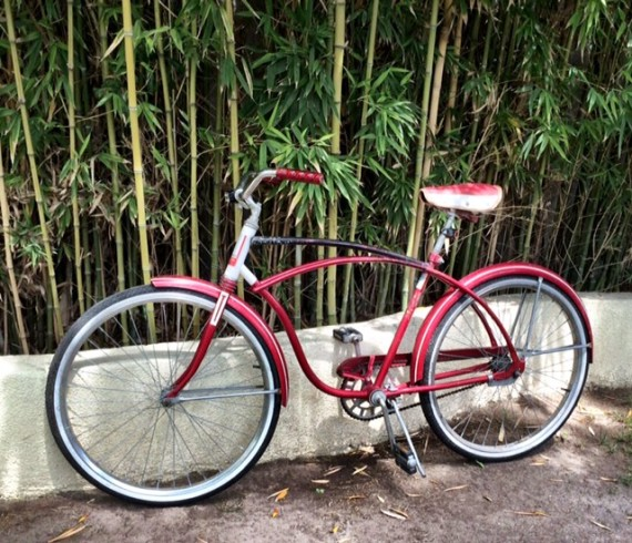 Old Schwinn bike | Spring Cleaning: How To Host a Raffle Party