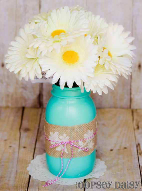Mason Jar Vase DIY | Mother's Day Gift Ideas