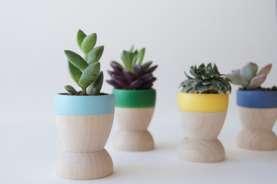 Mini Neon Planters | Mother's Day Gift Ideas