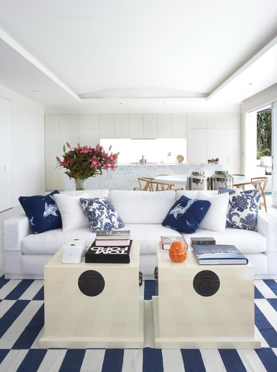 Nautical Stripes | Last Look: Coastal Interiors