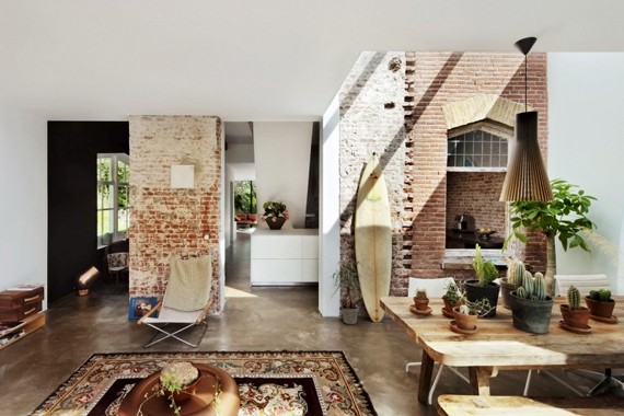 Exposed Brick and Open Air | Last Look: Coastal Interiors
