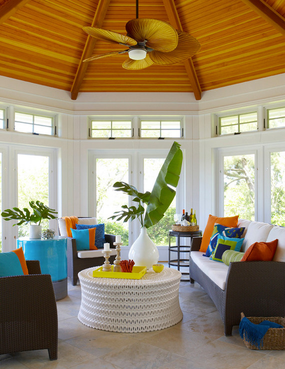 Bold Citrus Accents | Last Look: Coastal Interiors