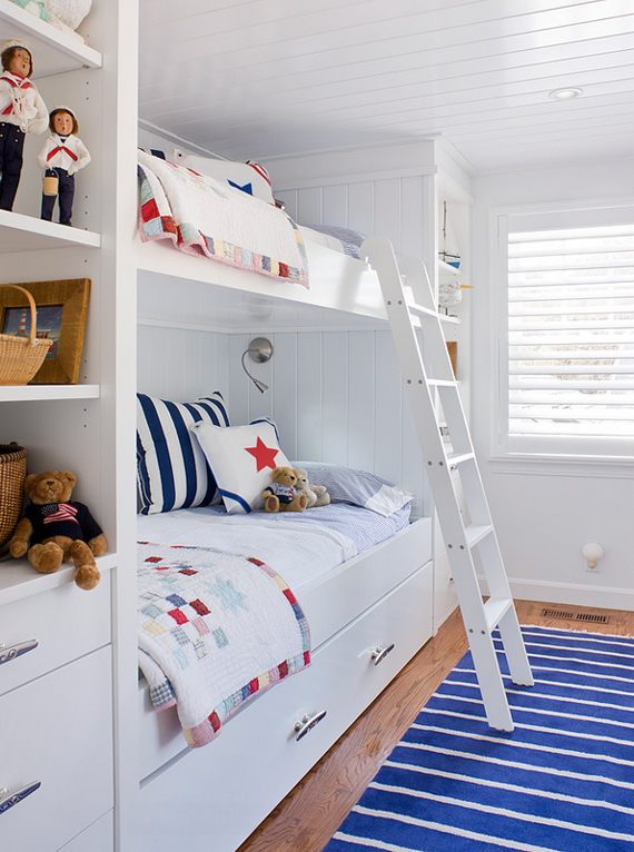 Nautical Patriotic Stripes | Last Look: Coastal Interiors