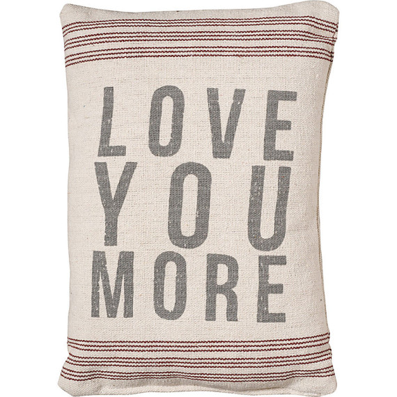 Love You More Pillow | Mother's Day Gift Ideas