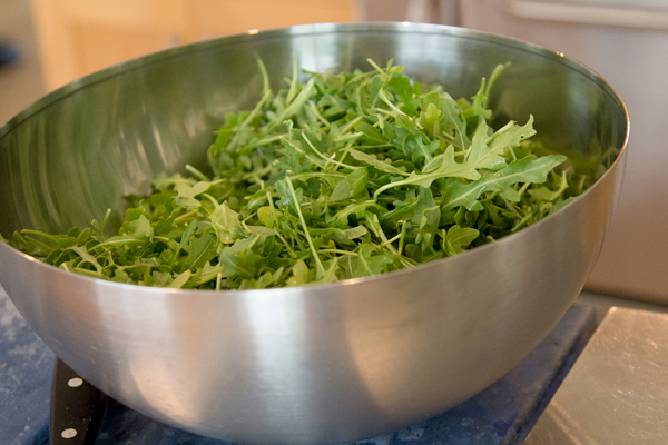 Good Eats: Ty Pennington's Wild Arugula Salad Recipe