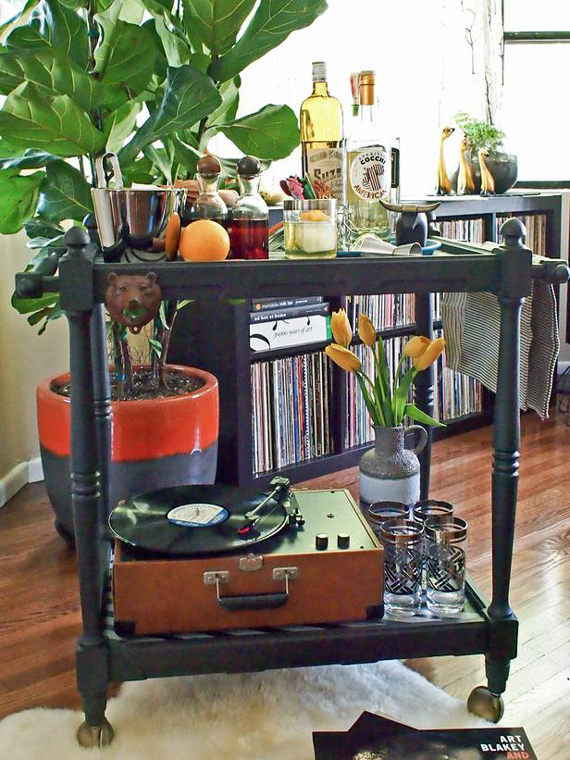 DIY Speakeasy Cart | 10 DIY Gift Ideas for Father's Day by Ty Pennington