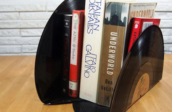 DIY Vinyl Bookends | 10 DIY Gift Ideas for Father's Day by Ty Pennington