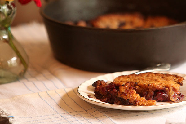 Seasonal Sweets: Rebecca's Blackberry Cobbler (via TyPennington.com)