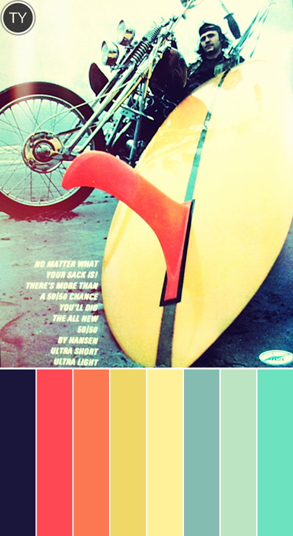 Inspired by: Vintage Surf Magazines