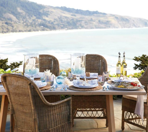 Outdoor Living: Summer Tablescapes (Williams Sonoma)