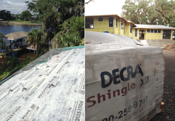 DECRA roofing systems | Ty Pennington's First to the Future Home project