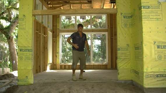 Housewrap | Ty Pennington's First to the Future Home project