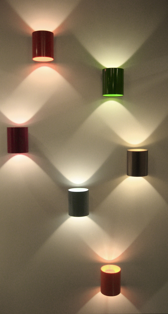 Colorful Lux Lamps from Lighthouse | Ty Pennington's Design Notes for Bright Interior Lighting